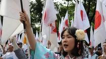 Hoa Đông: Dân Nhật Bản biểu tình điềm đạm hơn dân Trung Quốc