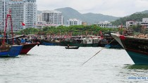 Cập nhật ảnh 9.000 tàu cá Trung Quốc đổ ra Biển Đông sau trưa 1/8
