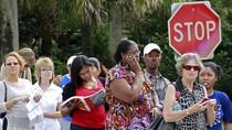 Bầu cử TT Mỹ: Xếp hàng quá lâu, nhiều người Florida bỏ về