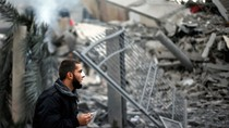 Israel đánh bom trúng phủ Thủ tướng Palestine tại Gaza