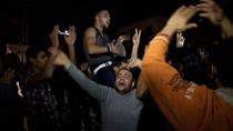 Hàng ngàn người Palestine đổ ra đường ăn mừng lệnh ngừng bắn