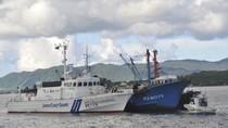 Nhật Bản bắt giữ 1 tàu cá Trung Quốc đột nhập đánh cá trộm