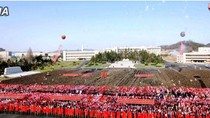 Những hình ảnh đầu tiên về lễ duyệt binh tại Triều Tiên