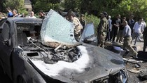 Video: Hiện trường vụ đánh bom nhằm vào Thủ tướng Syria