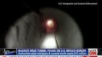 Video: Mexico phát hiện siêu đường hầm vận chuyển ma túy