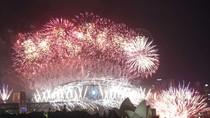 Màn pháo hoa rực rỡ đón năm mới 2014 tại New Zealand, Sydney