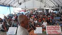 Nông dân Thái Lan đổ về Bangkok biểu tình đòi tiền chính phủ