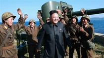 Kim Jong-un thị sát tập trận, biến đảo thành pháo đài kiên cố
