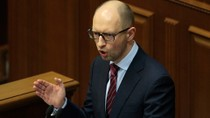 Yatsenyuk tiết lộ lý do kiên quyết không từ chức Thủ tướng Ukraine