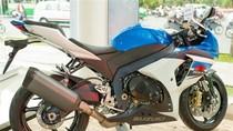 'Vua đường phố' Suzuki GSX-R 1000 mới nâng cấp vô cùng hầm hố