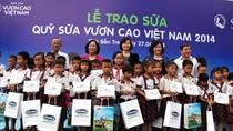 Quỹ sữa Vươn cao Việt Nam vươn xa mọi miền tổ quốc