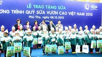 Quỹ sữa Vươn Cao Việt Nam: Tâm huyết vì một Việt Nam luôn vươn cao