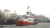 Cứu nạn 11 thuyền viên trong cơn bão số 10