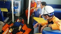 Ngư dân bị tai nạn lao động ở vùng biển Hoàng Sa
