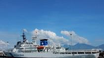Tàu lực lượng bảo vệ bờ biển Nhật Bản chuẩn bị cập cảng Đà Nẵng