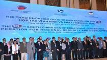 220 chuyên gia nhóm họp bàn về hợp tác an ninh và phát triển trên Biển Đông