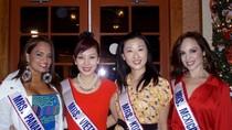 Thu Hương tự tin thi ứng xử tại Hoa hậu Quý bà thế giới