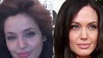 """Ngỡ ngàng xem """"bản sao"""" song sinh với Angelina Jolie"""
