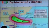 Bão số 7 diễn biến phức tạp, siêu bão Haima đang hình thành