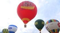 Vietjet mang khinh khí cầu đến Mộc Châu