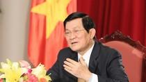 Video: Chủ tịch nước Trương Tấn Sang chúc Tết Nhâm Thìn - 2012