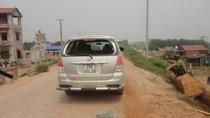 """Hà Nội: Lộ diện nhóm đối tượng vụ """"dàn trận"""" ô tô ở Hoài Đức"""