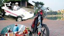 Cận cảnh xe tự chế siêu 'hot' made in Viet Nam khiến dân mạng điên đảo