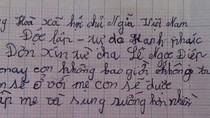 Đắng lòng chuyện bé gái viết đơn từ cha, gián tiếp đẩy mẹ vào tù