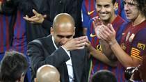Guardiola rớt nước mắt vì cảm động ngày chia tay Camp Nou