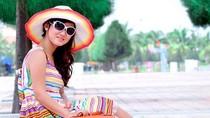 Vẻ nữ tính đáng yêu của bà xã ngôi sao SHB Đà Nẵng