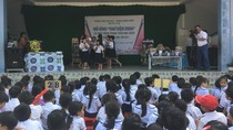 Trường Tiểu học Tân An 1 đón nhận 1000 cuốn sách truyện.
