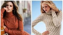 Nàng công sở mặc đẹp: Diện váy len vừa ấm vừa xinh