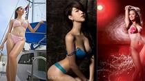 9 mỹ nữ mặc bikini, nội y nóng bỏng nhất showbiz Việt 2011