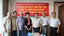 Công ty Nam Hoàng trở thành hội viên của Hiệp hội
