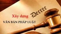 Soạn thảo văn bản quy định chi tiết 6 luật