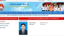 Tại sao huyện Quế Võ bao che, dung túng cho hiệu trưởng tham ô?