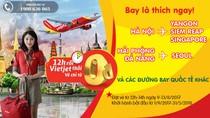Vietjet tung 200.000 vé giá từ 0 đồng cho nhiều đường bay quốc tế