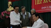 Chủ tịch nước kêu gọi người dân đóng góp ý kiến về nhân sự cấp trung ương