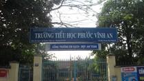 Không đứng lớp giảng dạy, Hiệu trưởng Trường tiểu học Phước Vĩnh An bị kỷ luật