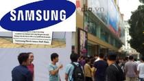 """""""Vỡ trận"""" tri ân khách hàng, Samsung quá thiếu chuyên nghiệp"""