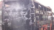 Nghệ An: Xe khách bốc cháy kinh hoàng tại Quốc lộ 1A