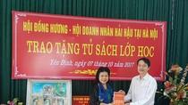 """Sao Thái Dương khơi dậy tinh thần ham học cùng chương trình """"Tủ sách lớp học"""""""