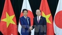 Chủ tịch nước Trần Đại Quang tiếp Thủ tướng Nhật Bản Abe