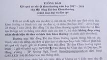 87 tập thể và cá nhân Quảng Ngãi không được công nhận danh hiệu thi đua giáo dục