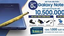 1.700 voucher nghỉ dưỡng 5 sao tặng khách đặt mua Samsung Galaxy Note9