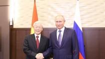 Tổng Bí thư Nguyễn Phú Trọng hội đàm với Tổng thống Nga Putin