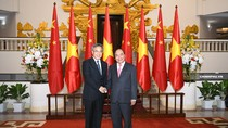 Thủ tướng Nguyễn Xuân Phúc tiếp Phó Thủ tướng Trung Quốc