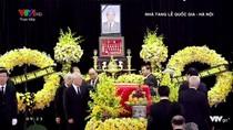 Lễ truy điệu nguyên Tổng Bí thư Đỗ Mười