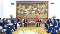 Thủ tướng tiếp các nhà đầu tư vào dự án lọc hóa dầu Nghi Sơn
