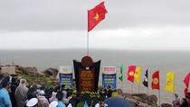 Chào cờ đón năm mới trên điểm cực Đông của Tổ quốc